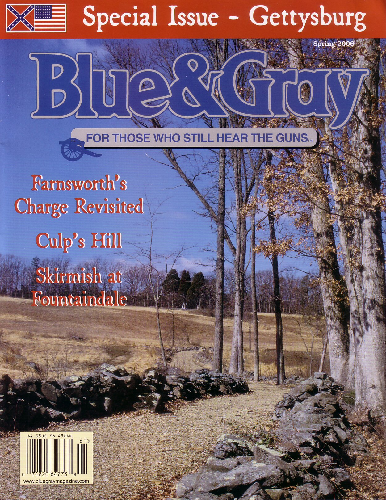 Blue & Gray Magazine, Volume 23, Number 1 (Spring 2006)