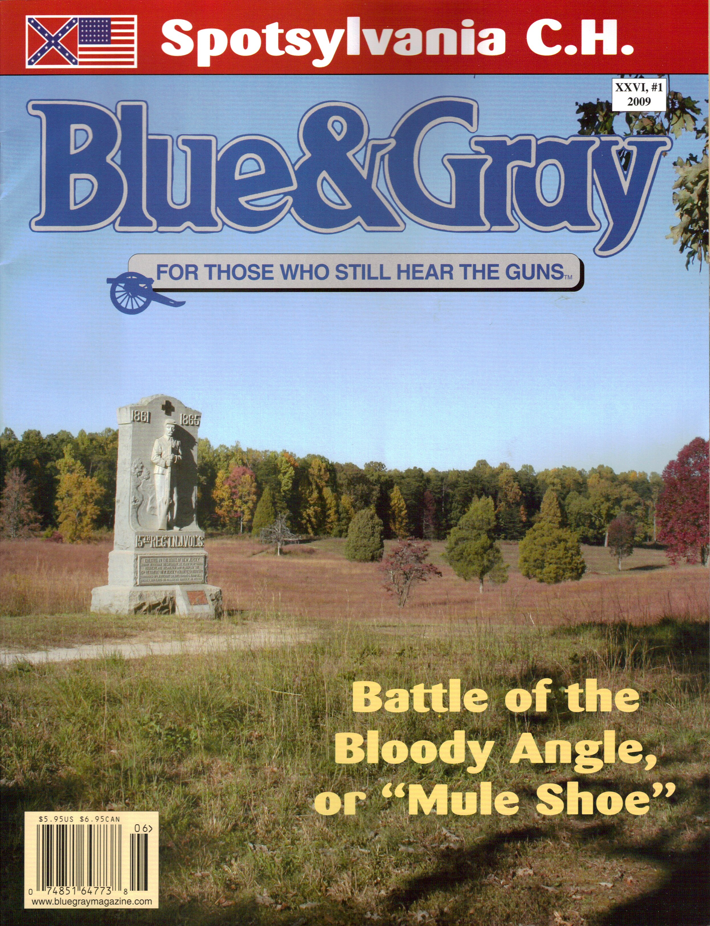 Blue and Gray Magazine, Volume 26, Number 1