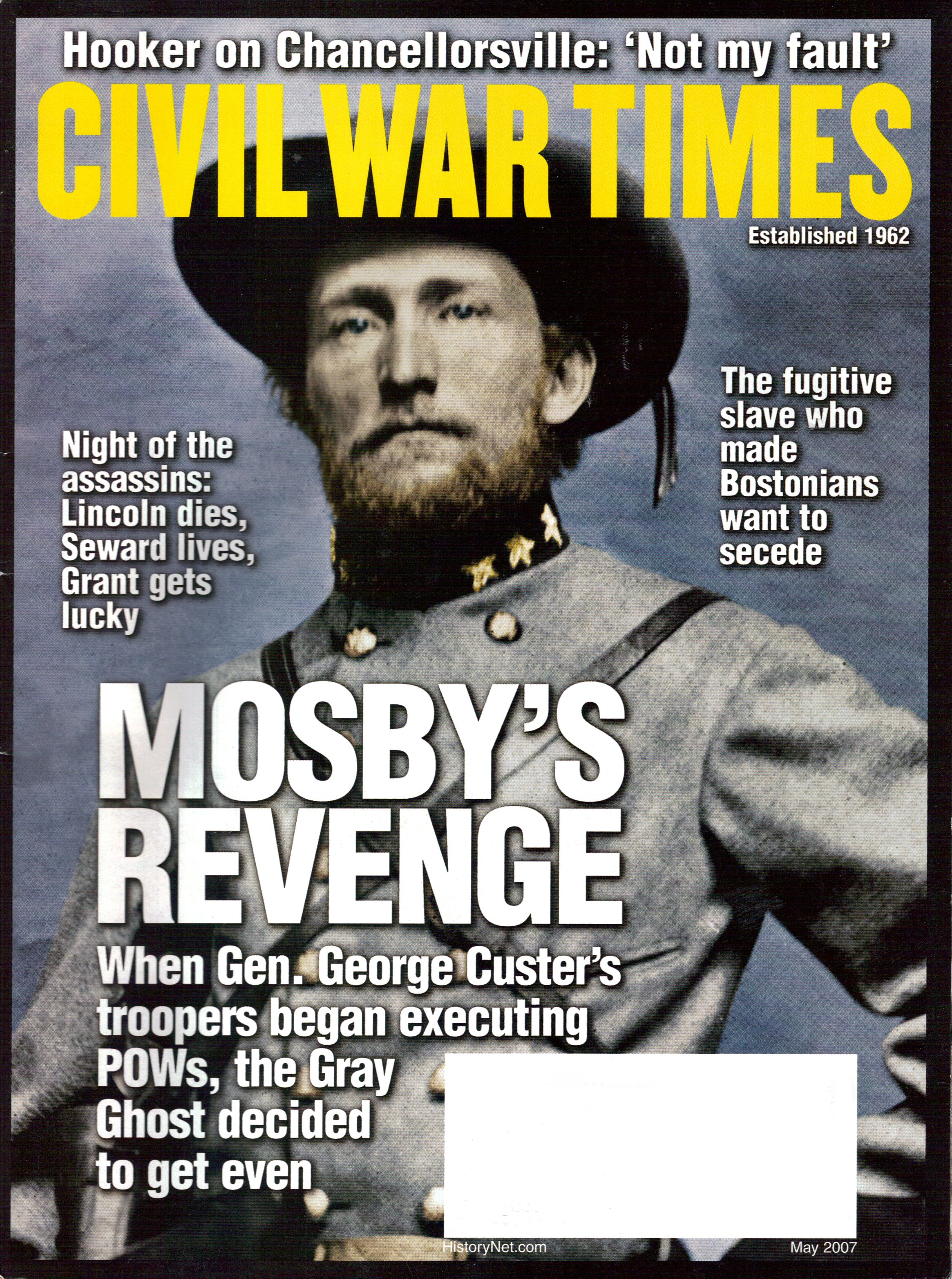 Civil War Times, Volume 46, Number 3 (May 2007)