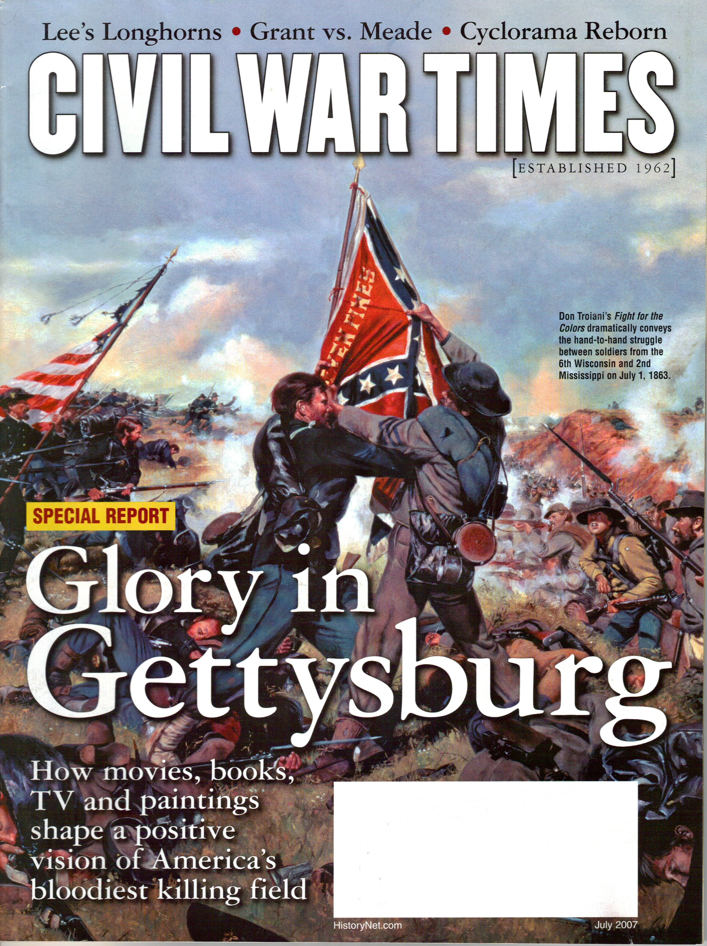 Civil War Times, Volume 46, Number 5 (July 2007)