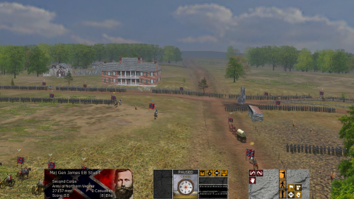 ChancellorsvilleCrossroads 500x281 Scourge of War: Chancellorsville in Images