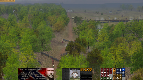 FairviewHeightsLookingEast 500x281 Scourge of War: Chancellorsville in Images