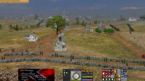 FredericksburgFromMaryesHeights 500x281 Scourge of War: Chancellorsville in Images