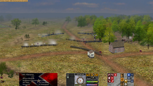 TollGateLookingEastWilcox 500x281 Scourge of War: Chancellorsville in Images
