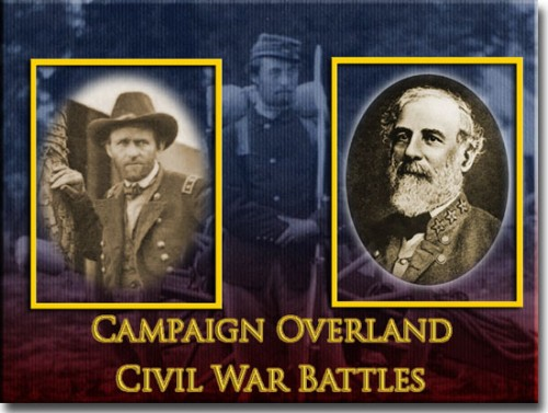 CampaignOverland 500x377 Civil War Game Review: Campaign Overland by John Tiller Software