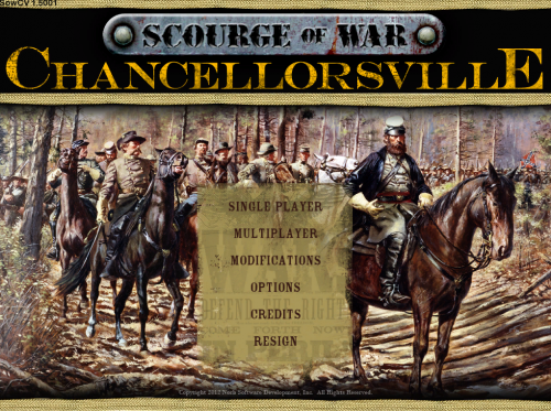 Buy Scourge of War: Chancellorsville Today!